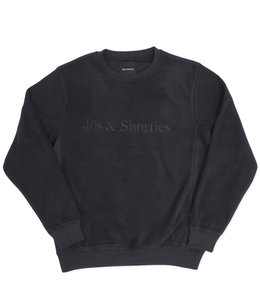 40'S & SHORTIES TEXT LOGO CREWNECK SWEATSHIRT