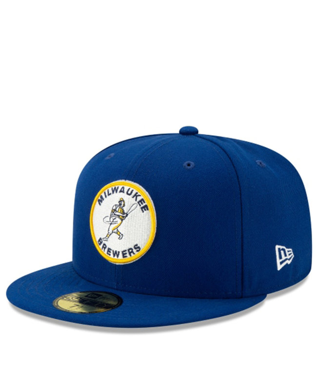 NEW ERA Brewers Barrel Man 59Fifty Fitted Hat
