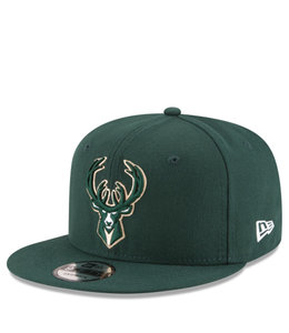 NEW ERA BUCKS BASIC 9FIFTY SNAPBACK HAT