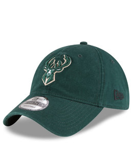 NEW ERA BUCKS CORE CLASSIC 9TWENTY ADJUSTABLE HAT