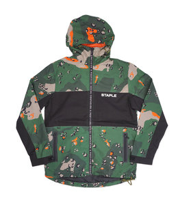STAPLE RIPSTOP CAMO NYLON JACKET