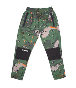 STAPLE RIPSTOP CAMO NYLON PANT