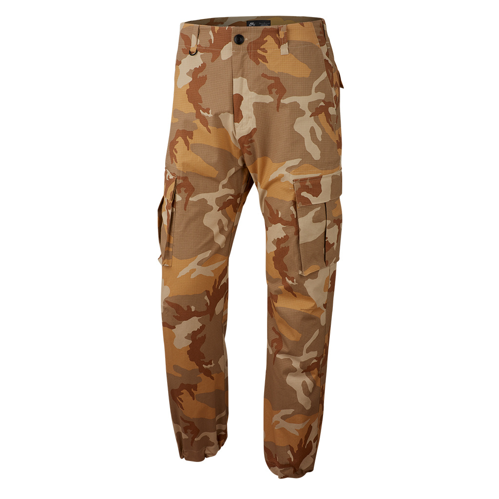 release info on official images website for discount Nike SB Flex FTM Cargo Pant - Desert Ore Khaki | AT3492-248
