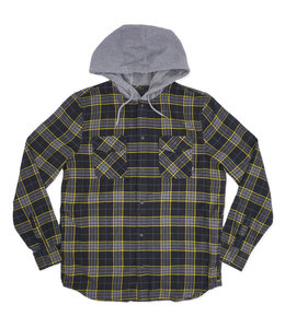 VANS PARKWAY HOODED FLANNEL SHIRT