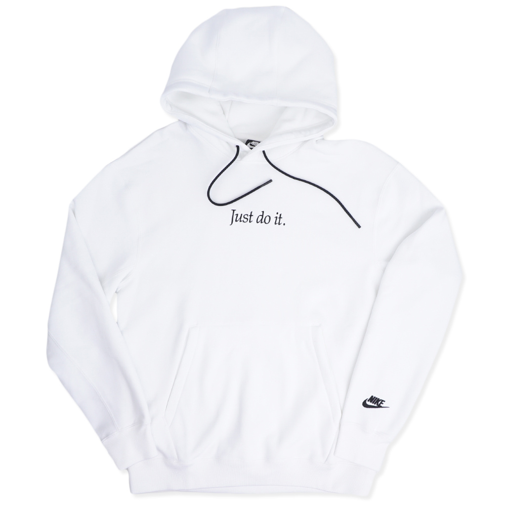 save off 90f5b 582b8 Nike Just Do It (JDI) Pullover Hoodie - White/Black