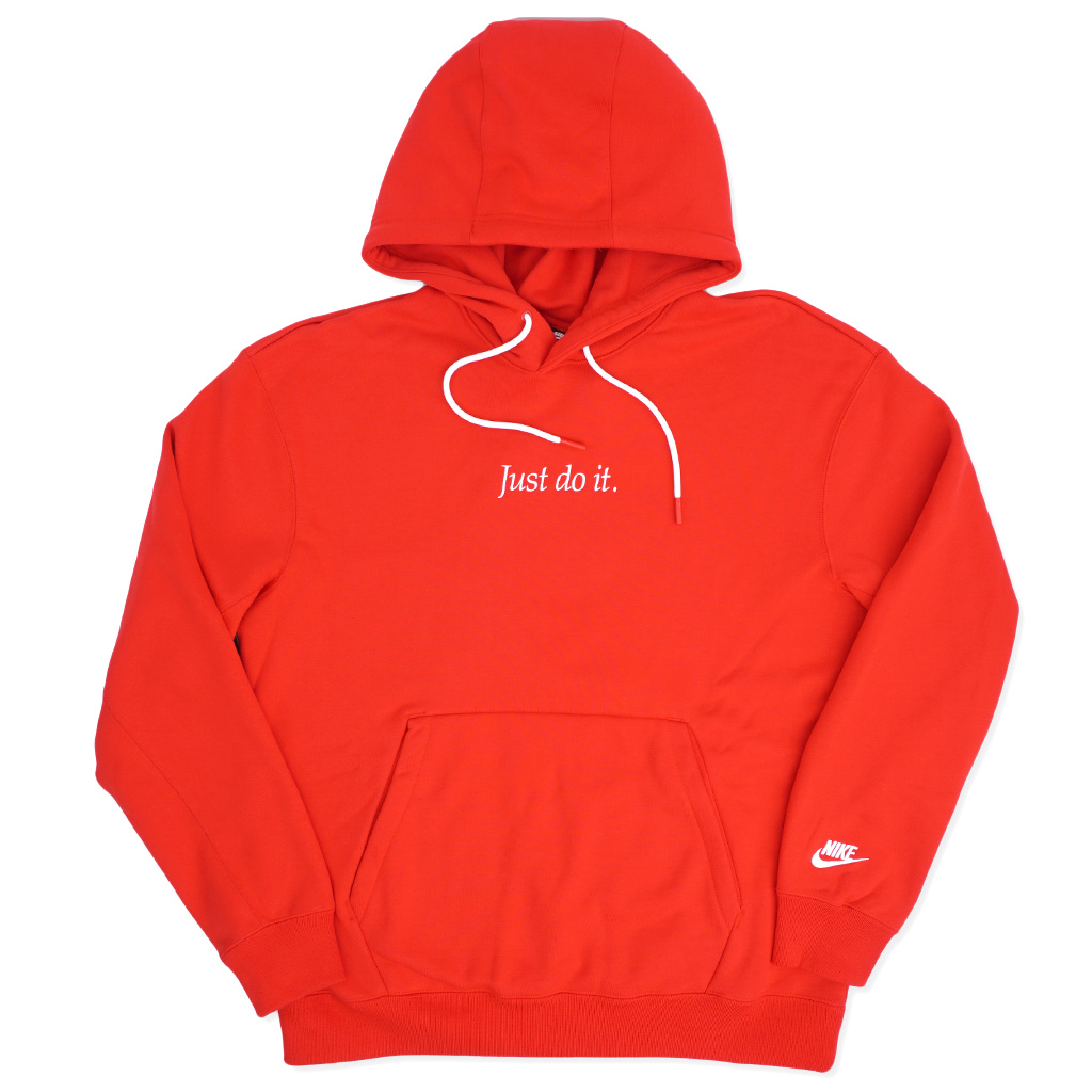 Nike Just Do It (JDI) Pullover Hoodie , University Red