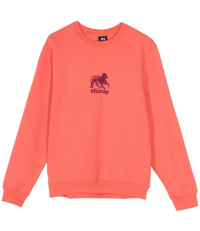 STUSSY Lion Crewneck Sweatshirt
