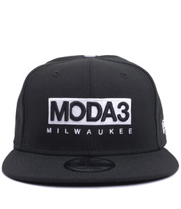 NEW ERA MODA3 BOX LOGO 9FIFTY SNAPBACK HAT