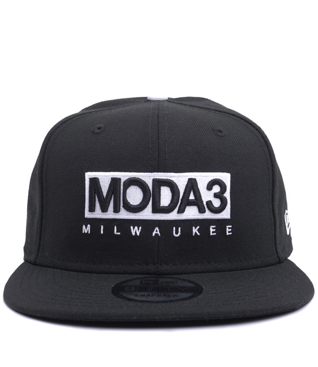 NEW ERA MODA3 Box Logo 9Fifty Snapback Hat