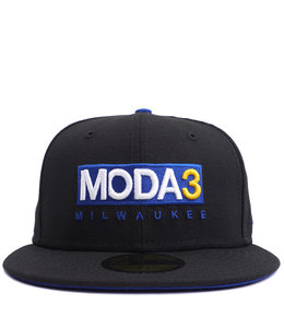 MODA3 MODA3 BOX LOGO 59FIFTY FITTED HAT