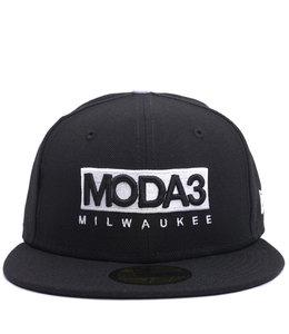 MODA3 MODA3 BOX LOGO 59FIFTY FITTED HAT