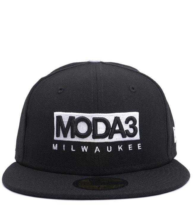 NEW ERA MODA3 Box Logo 59Fifty Fitted Hat