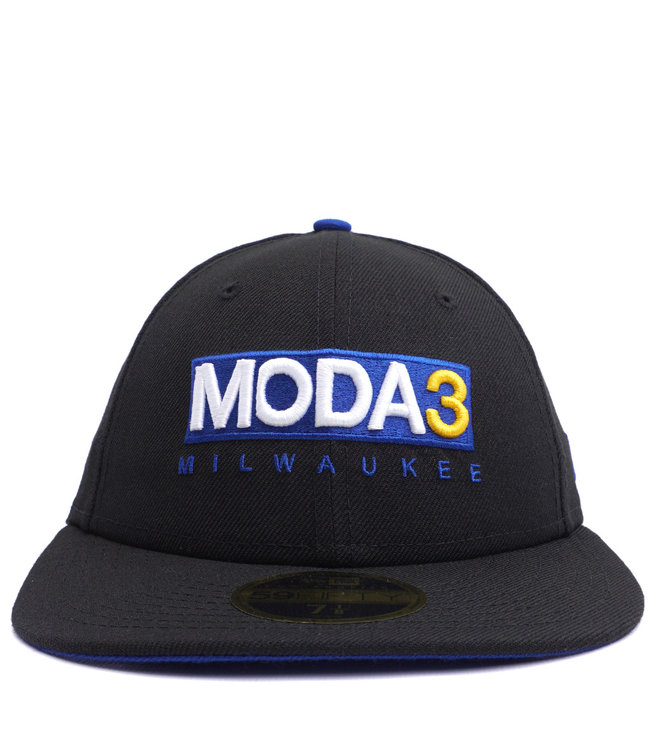 NEW ERA MODA3 Box Logo Low Profile 59Fifty Fitted Hat