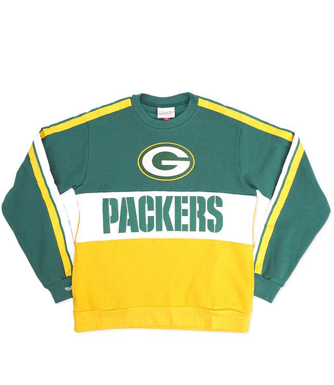 MITCHELL AND NESS Packers Leading Scorer Crewneck Sweatshirt
