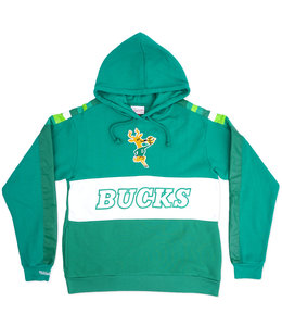 MITCHELL AND NESS BUCKS LEADING SCORER HOODIE