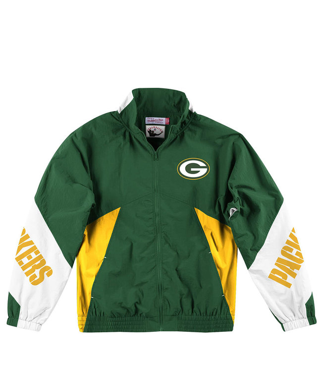 MITCHELL AND NESS Packers Midseason Windbreaker 2.0