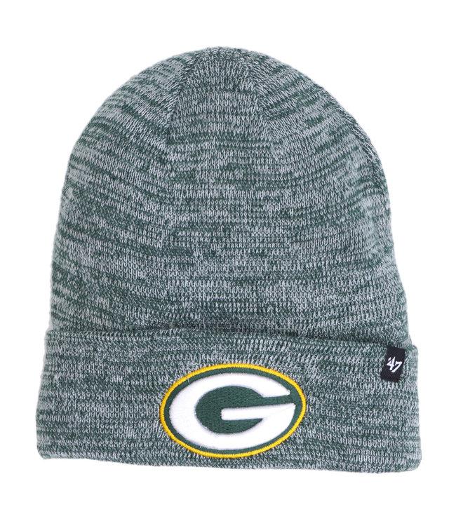 '47 BRAND Packers Checker Cuff Knit Beanie