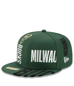 NEW ERA BUCKS TIP OFF SERIES 9FIFTY SNAPBACK HAT
