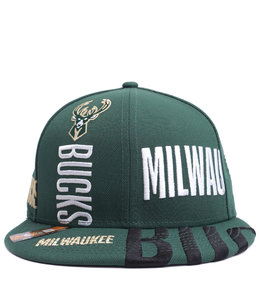 NEW ERA BUCKS TIP OFF SERIES 59FIFTY FITTED HAT