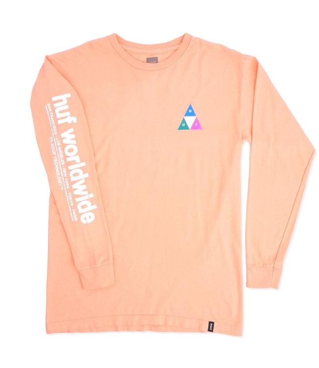 HUF Prism Triple Triangle Long Sleeve Tee