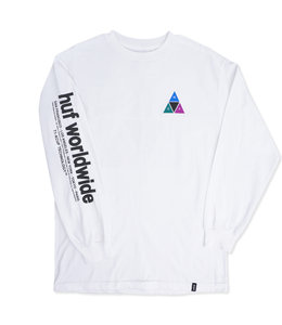 HUF PRISM TRIPLE TRIANGLE LONG SLEEVE TEE