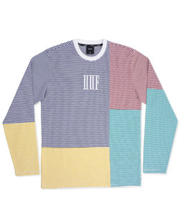 HUF VILMOS STRIPE L/S KNIT TOP