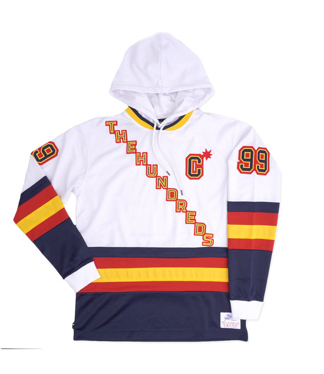 THE HUNDREDS Greats Hooded Long Sleeve Jersey