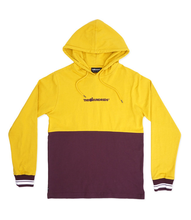 THE HUNDREDS Sub Hooded Long Sleeve Shirt