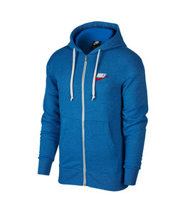 NIKE HERITAGE FULL-ZIP HOODED SWEATSHIRT