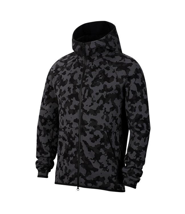 NIKE Tech Fleece Printed Full-Zip Hoodie