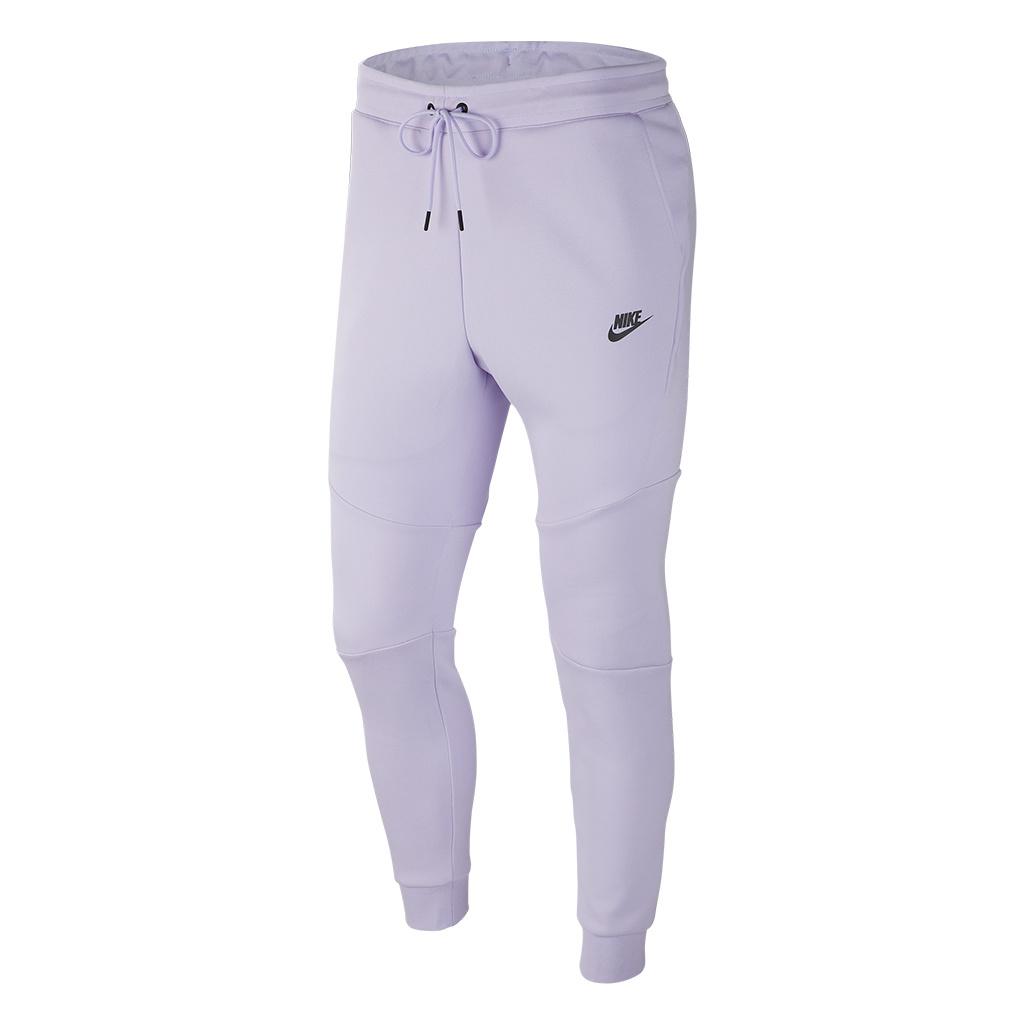 Nike Tech Fleece Jogger Pant Lavender MistBlack | 805162 539