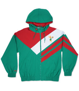 MITCHELL AND NESS BUCKS ASYMMETRICAL BLOCKED JACKET