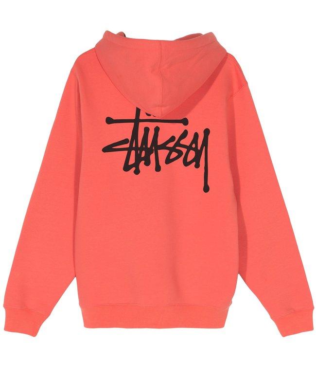 STUSSY Basic Stüssy Pullover Hooded Sweatshirt