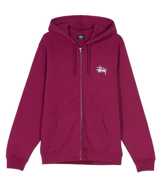 STUSSY Basic Stüssy Zip Hooded Sweatshirt