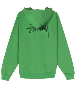 STUSSY EMBROIDERED HOOD