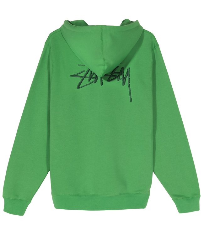 STUSSY Embroidered Pullover Hooded Sweatshirt