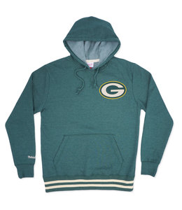 MITCHELL AND NESS PACKERS BAT AROUND PULLOVER HOODIE