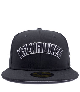 NEW ERA BUCKS MILWAUKEE 59FIFTY FITTED HAT