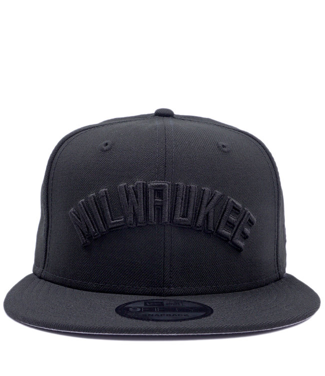 NEW ERA Bucks Milwaukee 9Fifty Snapback Hat