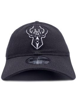 NEW ERA BUCKS PRIMARY LOGO 9TWENTY ADJUSTABLE HAT
