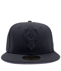 NEW ERA BUCKS PRIMARY LOGO 59FIFTY FITTED HAT