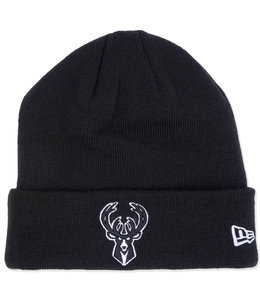 NEW ERA BUCKS PRIMARY LOGO KNIT CUFF BEANIE