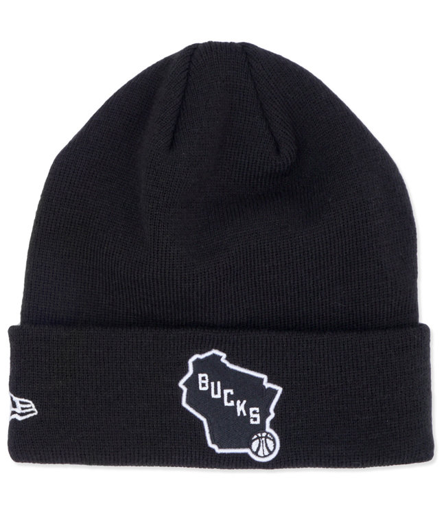 NEW ERA Bucks State Logo Cuffed Knit Beanie
