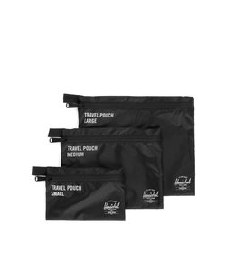 HERSCHEL SUPPLY CO. TRAVEL POUCH SET