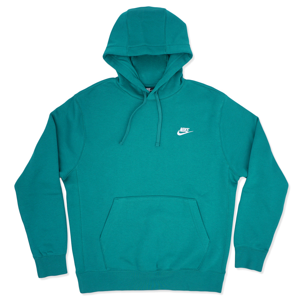 Mystic 340 Nike Pullover Hooded Sweatshirt GreenWhiteBV2654 Club MqUVpLSGzj