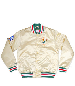 MITCHELL AND NESS BUCKS CHAMPIONSHIP GAME SATIN JACKET