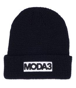 MODA3 BOX LOGO RIBBED CUFF BEANIE