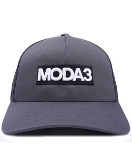 MODA3 BOX LOGO LOW PROFILE TRUCKER HAT