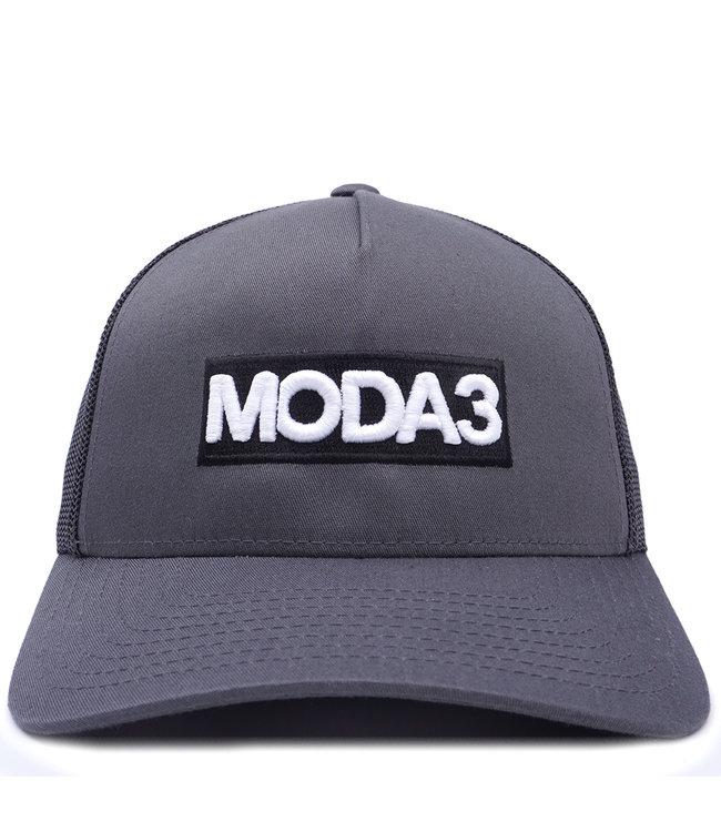 MODA3 Box Logo Low Profile Trucker Hat