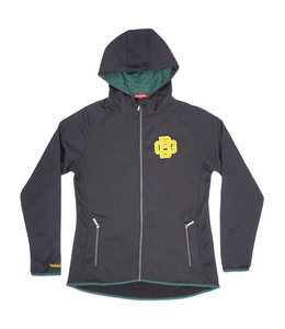MITCHELL AND NESS PACKERS WOMENS FITTED HOODED JACKET
